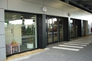 Aluminium Shop Front Double Glazing